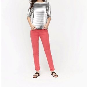 JOULES Pink Chino Pants Hesford Redsky Size 10